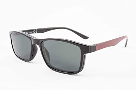 PACK 2 Gafas de lectura con imán para sol - Gafas de presbicia - Vista cansada graduadas - Unisex - Mujer - Hombre - 6016 (C2-2, 2.50 Dioptrías)