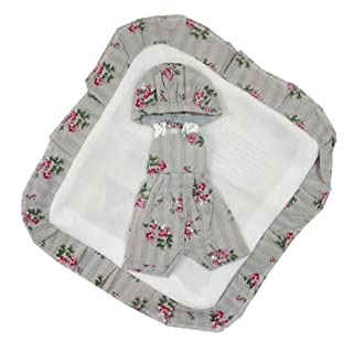 Reborn Baby Clothes Suitable for 11-12 inch Boy Doll Gray homesave