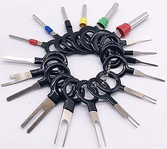 Fine 18Pcs Auto Wire Terminal Removal Tool Car Electrical Wiring Crimp Wiring Cloud Inamadienstapotheekhoekschewaardnl