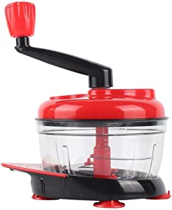 Food Chopper Mini for Fruit Veg Herbs | Compact Blender Mixer Machine | Dishwasher Safe Stainless Steel Blades Small Electric Meat Grinder (Color : As photo, Size : One size)