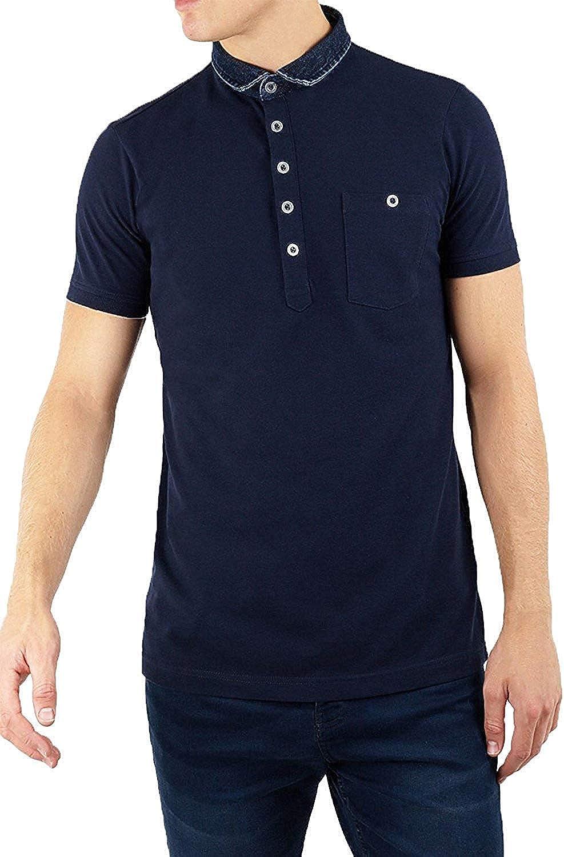 Brave Soul - Polo - Camisa - Básico - con Botones - para Hombre ...