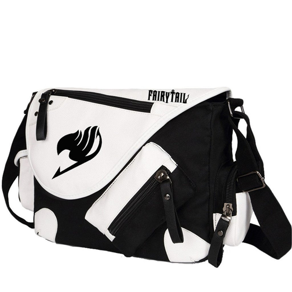 Siawasey Anime Fairy Tail Cosplay Backpack Cross-body Tote Bag Messenger Bag Shoulder Bag