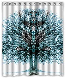 Shower Curtain Tree of Life waterproof