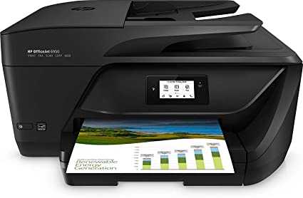 HP OfficeJet Pro 6950 - Impresora Multifunción (Tinta Color, Fax, Copiar, Escanear, Impresión a Doble Cara, 4800 x 1200 PPP, Incluido 2 Meses de HP ...