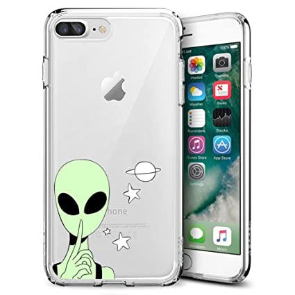 Amazon.com: Tpu suave funda para iPhone 7 Plus/iPhone 8 plus ...
