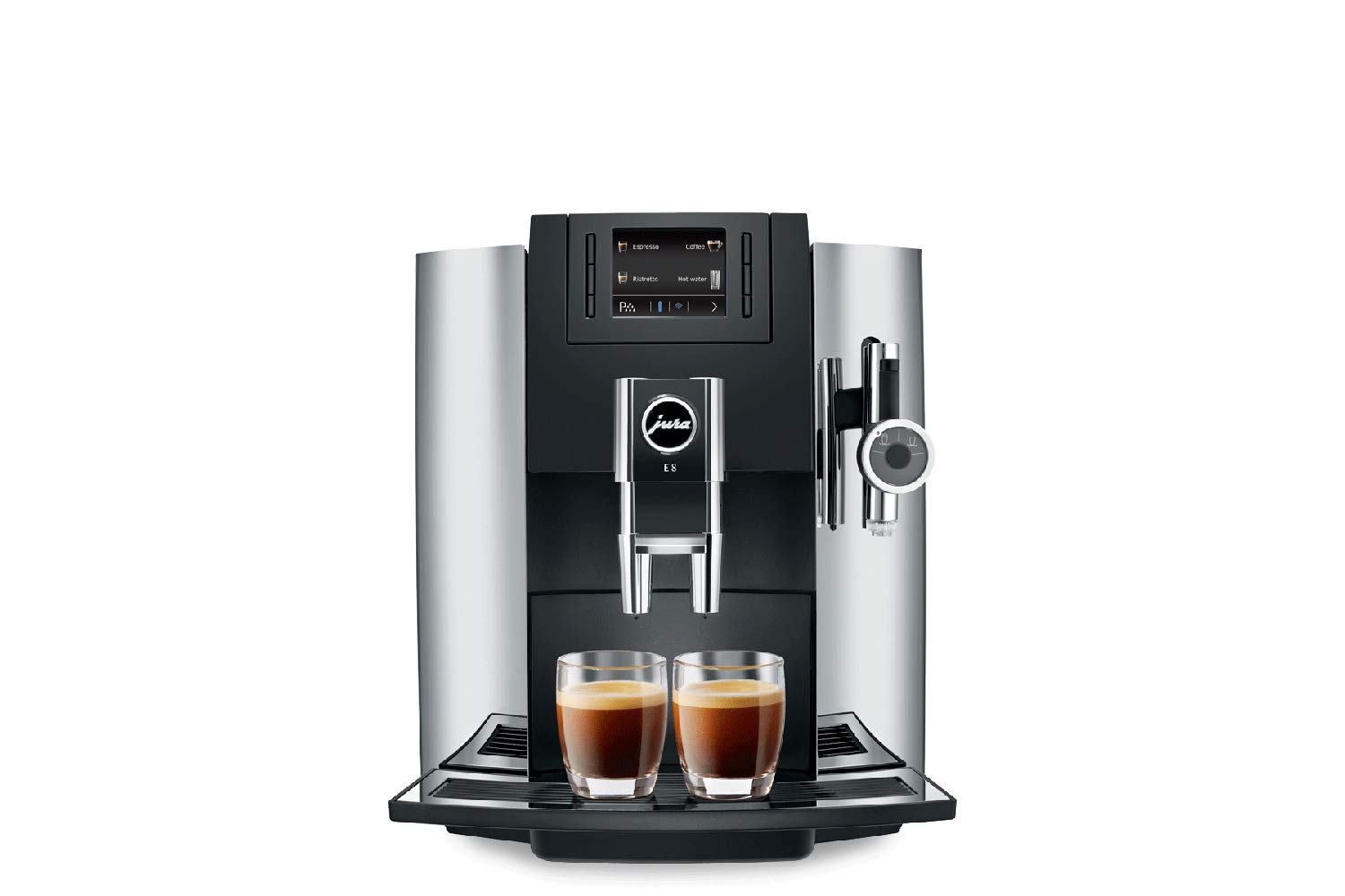 Jura E8 2019 Automatic Coffee Center Piano Black by Jura