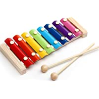 Skyeye Juguetes Educativos de Madera para la Primera Infancia Instrumentos Musicales Infantiles Equipo de Juego diseñado para niños