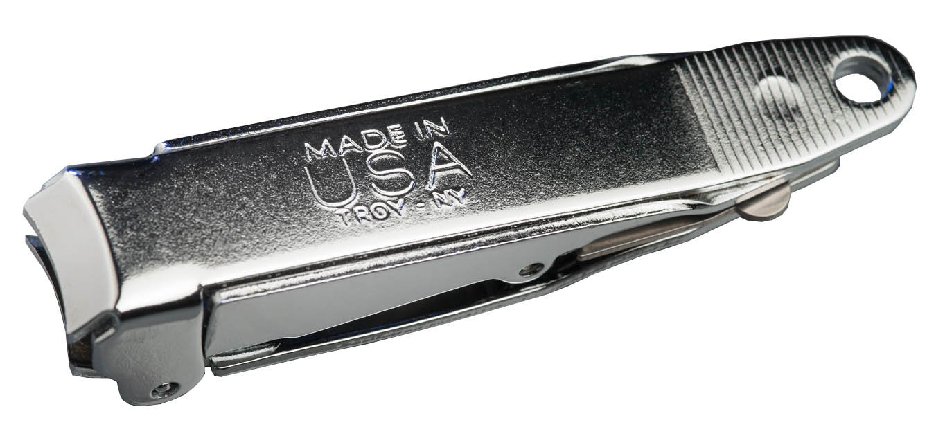 Genuine ''No-mes'' Nail Clipper with Catcher, Catches Clippings, Made in USA by www.nomesnailclipper.com (Image #5)