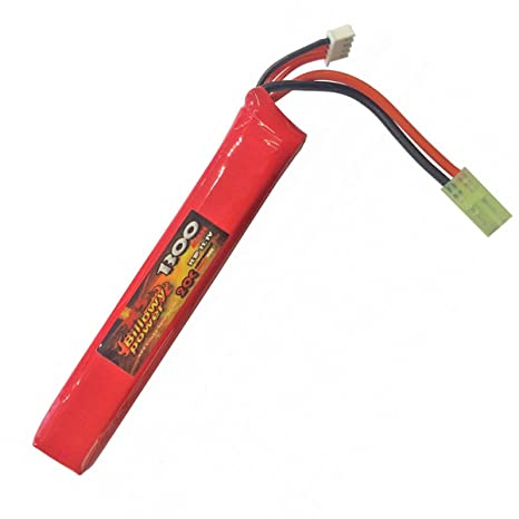 billowy 11.1  Batteria Lipo 11.1V Billowy Power 1300 mAh Ricaricabile 20C Softair ...