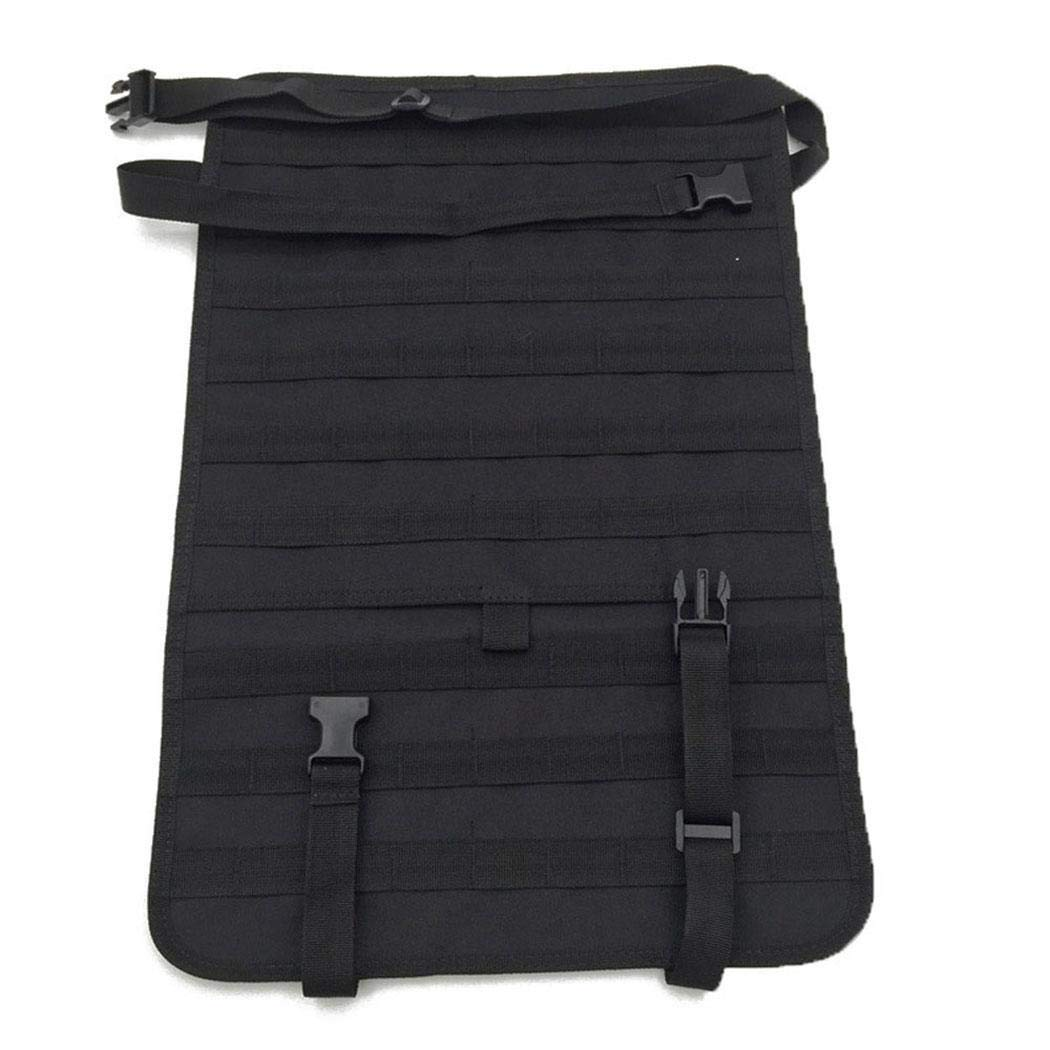 ICCUN Tactical Vehicle Panel Car Seat Back Organizer Storage Bag Seat Back Organizers