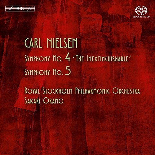SACD : Sakari Oramo - Symphonies Nos. 4 & 5 (Hybrid SACD)