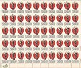 Johnny Appleseed Sheet of 50 x 5 Cent US Postage Stamps Scott 1317