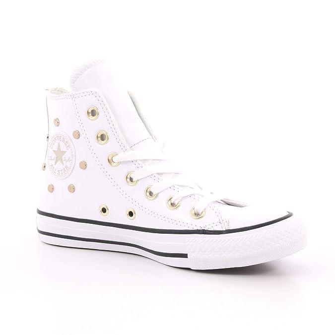 zapatillas converse mujer blancas 39