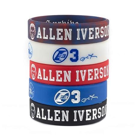 Baloncesto de la NBA Allen Iverson Retrato Pulsera número 3 DE ...