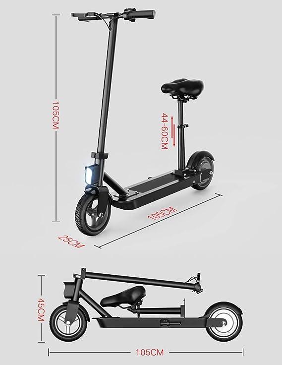 WQ Scooter eléctrico, Scooter eléctrico Plegable de Control ...