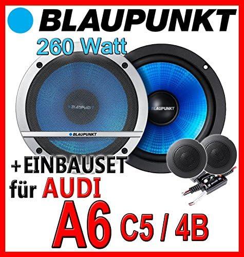 Blaupunkt Cx160 16cm 2 Wege System Einbauset Für Audi A6 C5 4b Lautsprecher Just Sound Best Choice For Caraudio Navigation