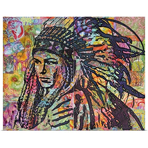GREATBIGCANVAS Poster Print Entitled TIVA in Head