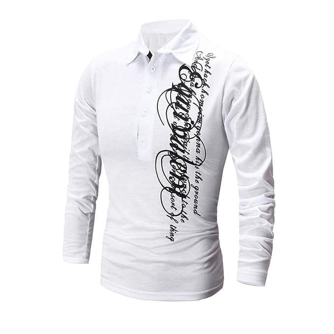 Blusa de hombre OverDose camiseta impresión nueva moda manga larga tapas
