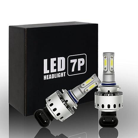 Ralbay 2x 9006 HB4 LED Faro Bombillas Alquiler de luces LED 90W 12000Lm LED lámpara con