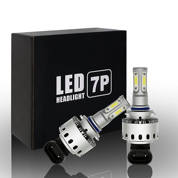 Ralbay 2x 9006 HB4 LED Faro Bombillas Alquiler de luces LED 90W 12000Lm LED lámpara con la viruta del COB para el coche vehículo Llevado conduciendo la Luz ...