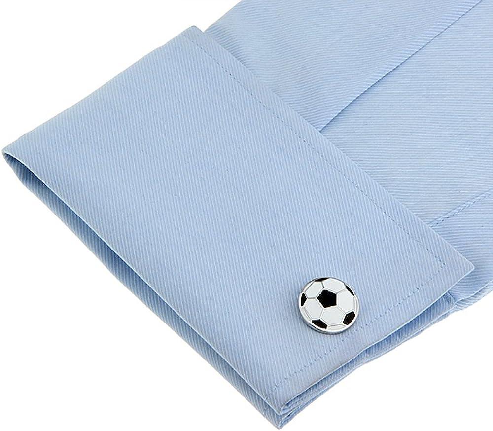 boutonni/ères de foot LABEL-CRAVATE Boutons de manchettes humour /«/ballon de foot//» fantaisie