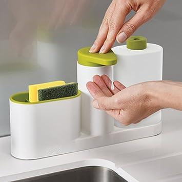 Amazon.com - TOAO 3 In 1 Set Kitchen Bathroom Sink Caddy Organizer ...