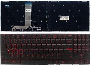 Laptop Replacement Keyboard Fit Lenovo Legion Y520-15IKB Y720-15IKB (US Layout SN20M27498)
