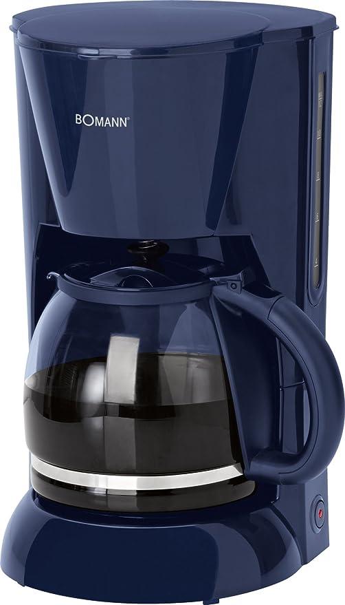 Bomann KA 183 - Cafetera, color azul: Amazon.es: Hogar