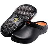 Non Slip Chef Shoes Oil Resistant Kitchen Work Shoes for Men