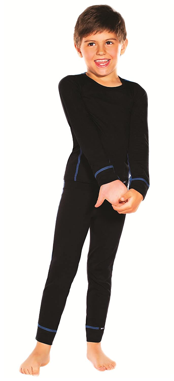 Jungen Thermo Shirt mit langem Arm, Thermounterhemd für Jungen