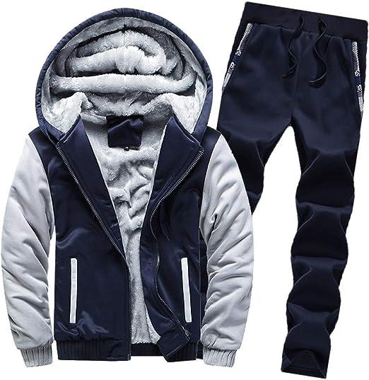 New Mens KAM Big Tall Tracksuit Fleece Zip Up Hoodie Hooded Joggers Jacket Jog