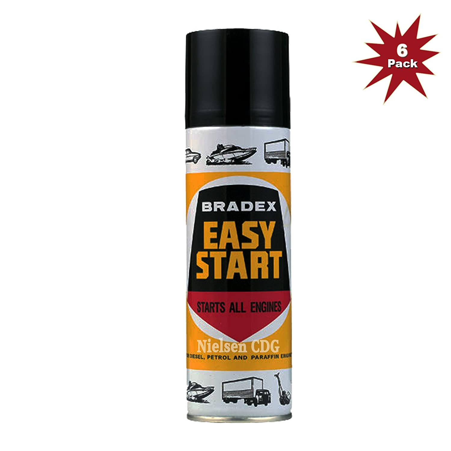 Bradex Easy Start HOL-BES1A-6 - 6x300ml = 6 Pack Holt LLoyd