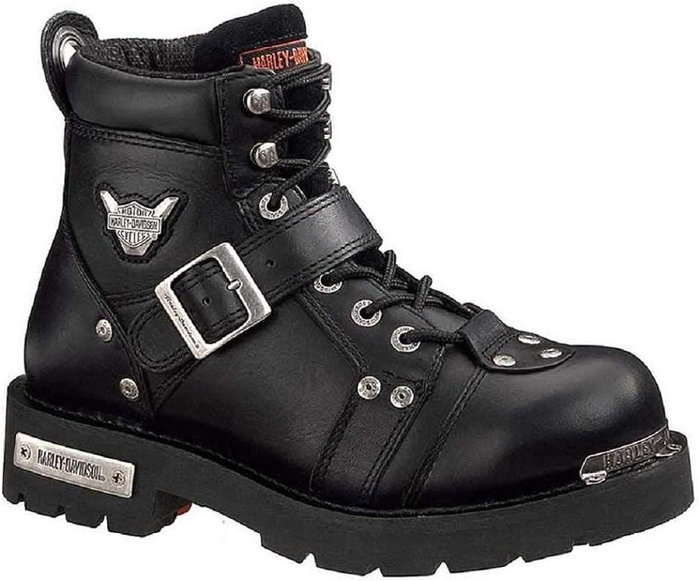 Harley-Davidson Mens Brake Buckle Boot,Black,11.5 M