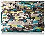 NarelleF7 Shoulder Bag, Lime Green Camouflage, One Size