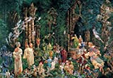 Jumbo Puzzle - James Christensen Collection - Court of the Fairies (1500 pieces) by Disney