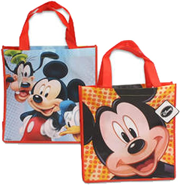 55c3db2051 Amazon.com  Disney Mickey Mouse and Friends Reusable Tote Bags ...