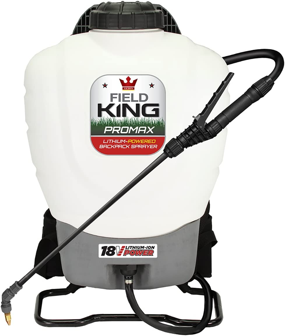 Field King Professionals Battery-Powered Backpack Sprayer