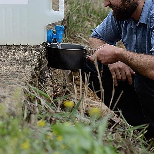 15L Wasserbeh/älter Mit Wasserhahn Tragbaren Eimer Wassertank Outdoor Camping Home Trinken Aufbewahrungseimer Romdink Camping Wasserbeh/älter