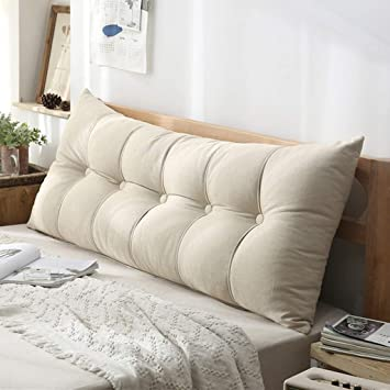 Amazon.com: SYFO - Cojín de lino suave y cómodo, tamaño ...