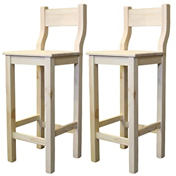 Super Elean Vodka Set Of 2 Bar Stool With Back Rest Made Of Caraccident5 Cool Chair Designs And Ideas Caraccident5Info