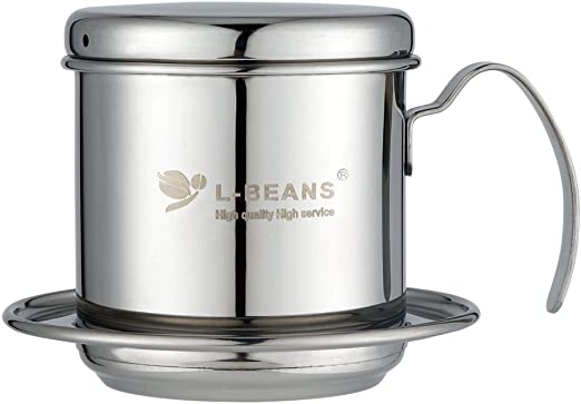 l-beans, sin papel de goteo de acero inoxidable cafetera eléctrica ...
