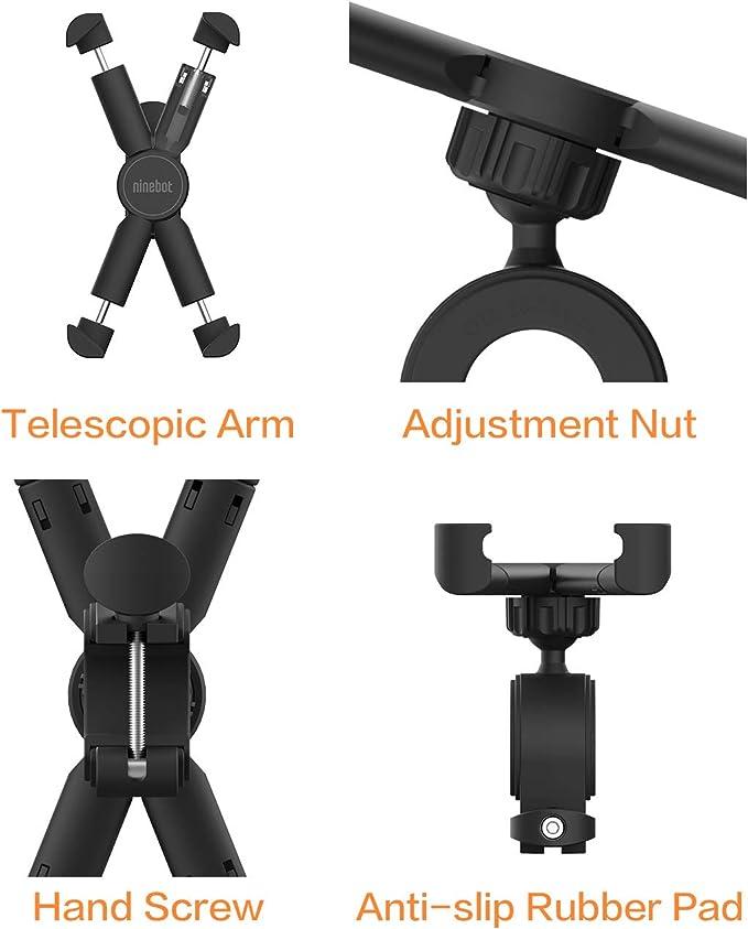 Amazon.com: Segway Ninebot - Soporte de teléfono para ...