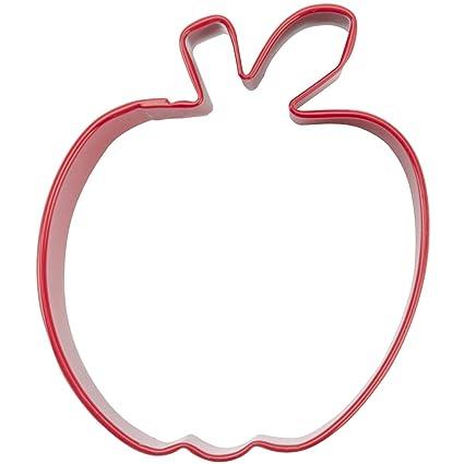 Wilton Metal Cookie Cutter, 3-Inch, Apple