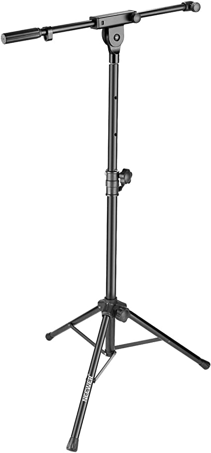 Supports up to 11lbs. LCD Mount for Standard Microphone Stand