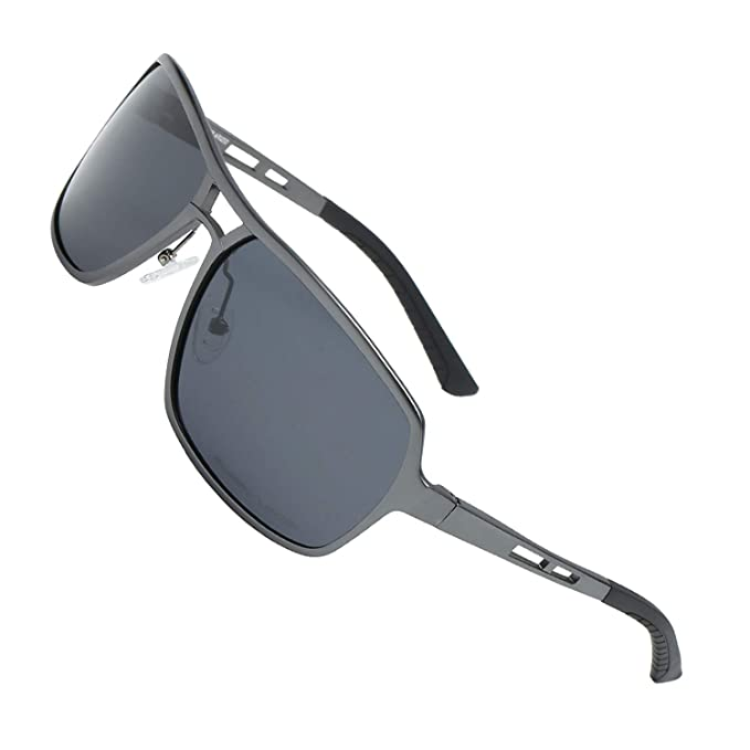 Amazon.com: Xloop - Gafas de sol polarizadas de aviador de ...