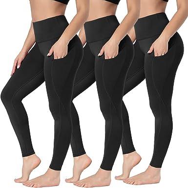 Womens Running Workout Sports High Waist Leggings