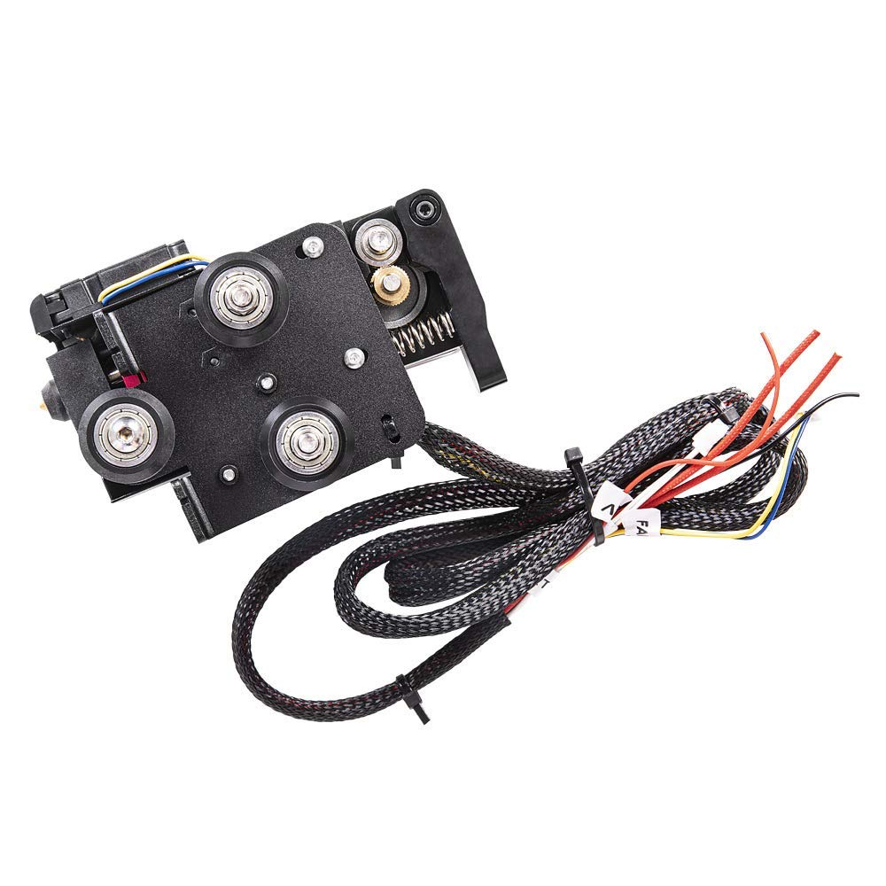 Creality Upgraded Direct Extruder Kit for Ender 3 Ender 3 V2 Comes with 42-40 Stepper Motor Fan and Cables Support Flexible Filament Ender 3 Pro 1.75mm Direct Drive Extruder