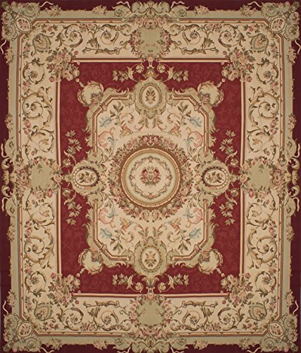 eCarpetGallery Hand Woven French Tapestry 14'0