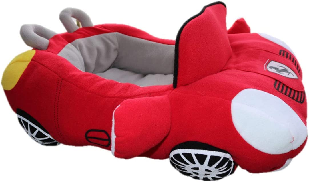 PetBoss Co. Fashionable Fancy Deluxe Cozy Warm Cute car Design pet Bed. Small Medium Dog cat 27 x21 x8