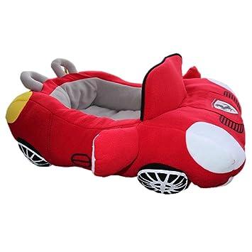 Amazon.com: petboss Sporty coche de lujo Shaped Cozy Pet ...